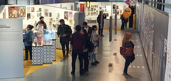 Exposición Indelebles, Alumnos Diseño y Edición de publicaciones impresas y multimedia, departamento de artes gráficas, salesianos atocha, madrid