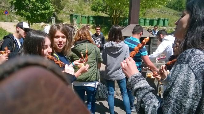 departamento de artes gráficas Salesianos Atocha, convivencia María auxiliadora 2015,