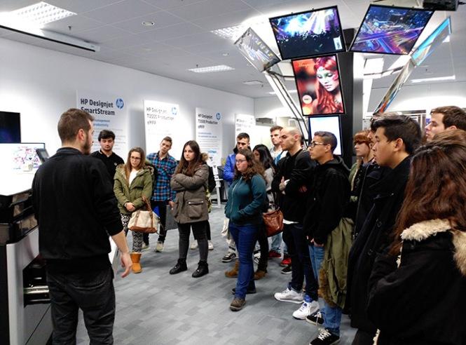 graphispag 2015, departamento artes gráficas salesianos atocha, diseño y producción editorial, preimpresión digital, impresión