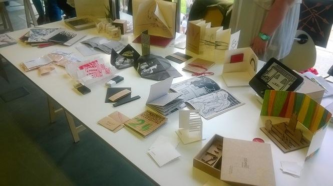 más que libros, Grabado, libros de artista, Escuela de arte de Oviedo, retiro Madrid