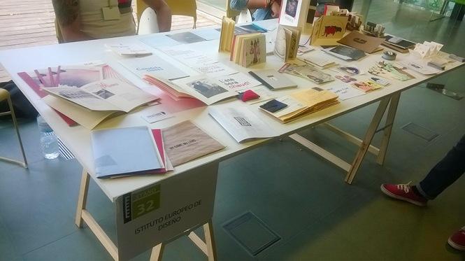 más que libros, libros de artista, Instituto Europeo de diseño, retiro Madrid