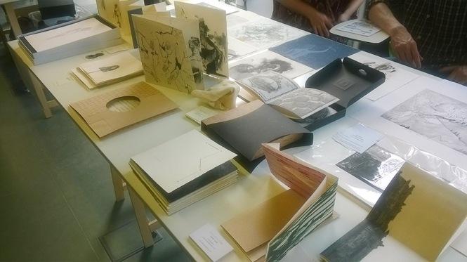 más que libros, Grabado, libros de artista, Real Fábrica de Moneda y Timbre, retiro Madrid