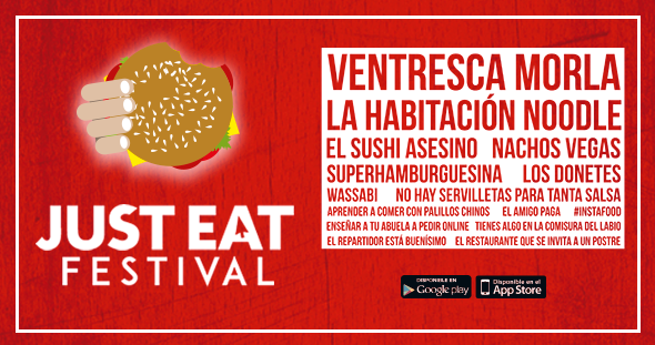 laura sampedro, just eat festival,semana don bosco 2016,  diseño, marketing, artes gráficas, salesianos atocha, madrid