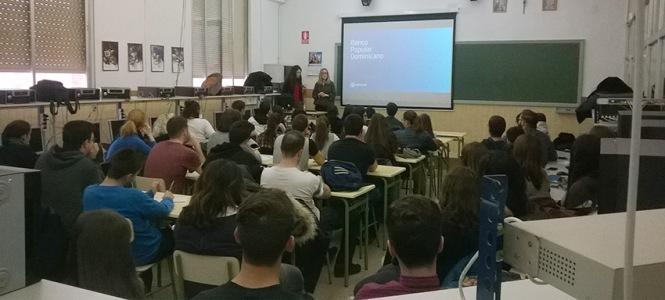 Presentación, Teresa Pérez, eme, semana don bosco 2016, artes gráficas, salesianos atocha, diseño, formación profesional, madrid