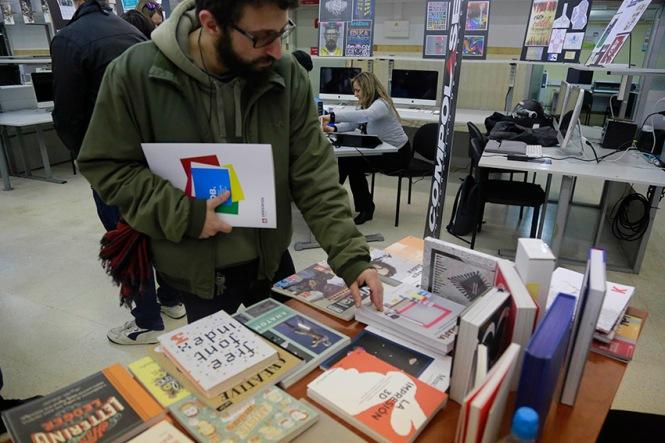 departamento de artes gráficas, salesianos atocha, graphisbook, compolaser, master class carlos magro, db_maestro
