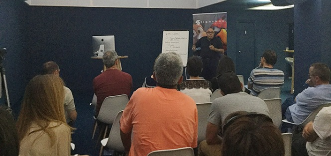 EncuetroProfesoresAAGG2016_ProyectoSarriá