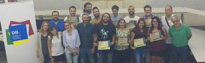 db, diseño y dirección de arte, departamento de artes graficas salesianos atocha, entrega diplomas 2016