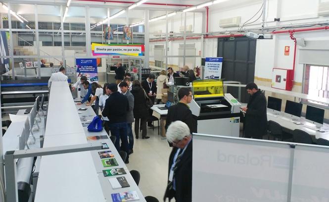 4º congreso Fespa España, Aedes, Salesianos Atocha Artes Gráficas, Diseño, Impresión digital, Serigrafía, Roland DGA, Esko Graphics, Madrid 2016