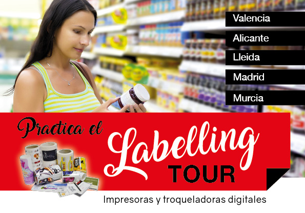 labelling tour, salesianos atocha. departamento artes gráficas, impresión digital