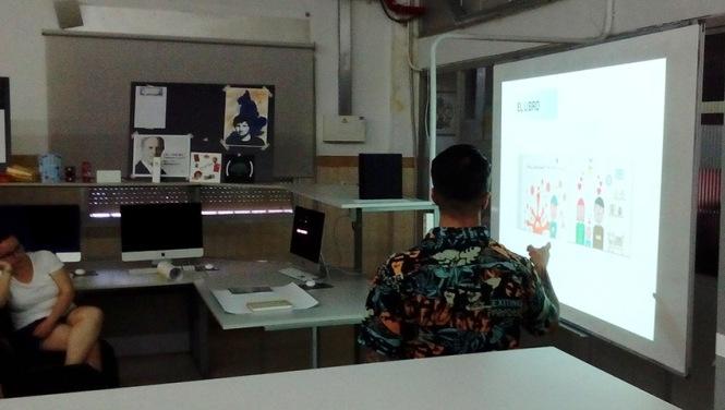 Defensa proyecto final de curso 2016-2017, David Cano, Máster DB Diseño y Dirección de Arte, Departamento de artes gráficas salesianos atocha