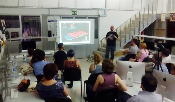 Defensa proyecto final de curso 2016-2017, Alejandro Cerro, Máster DB Diseño y Dirección de Arte, Departamento de artes gráficas salesianos atocha