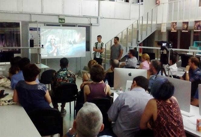 Defensa proyecto final de curso 2016-2017, Víctor Conejo, Máster DB Diseño y Dirección de Arte, Departamento de artes gráficas salesianos atocha