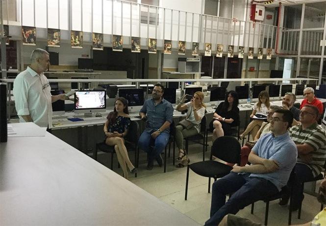 Defensa proyecto final de curso 2016-2017, Jorg Taramundi, Máster DB Diseño y Dirección de Arte, Departamento de artes gráficas salesianos atocha