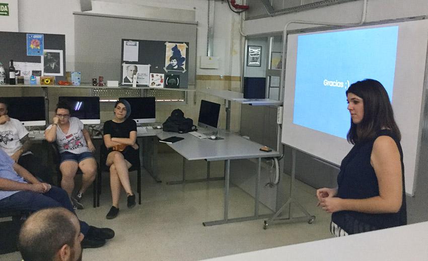 Defensa proyecto final de curso 2016-2017, Beatriz Santamaría, Máster DB Diseño y Dirección de Arte, Departamento de artes gráficas salesianos atocha