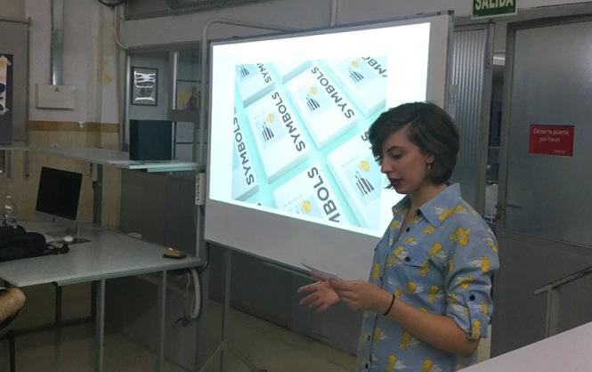 Defensa proyecto final de curso 2016-2017, Claire Van Kuijck, Máster DB Diseño y Dirección de Arte, Departamento de artes gráficas