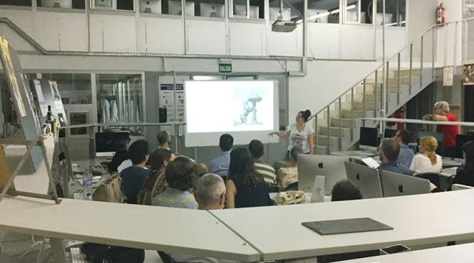 Defensa proyecto final de curso 2016-2017, Inés Zayas, Máster DB Diseño y Dirección de Arte, Departamento de artes gráficas salesianos atocha