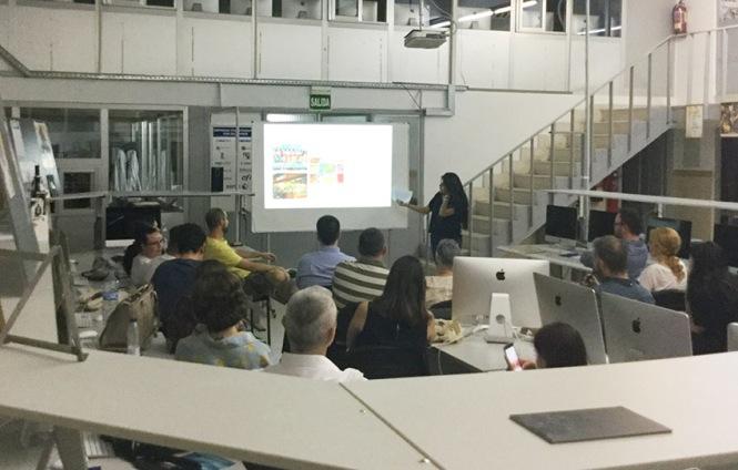 Defensa proyecto final de curso 2016-2017, Daniela Criado, Máster DB Diseño y Dirección de Arte, Departamento de artes gráficas salesianos atocha
