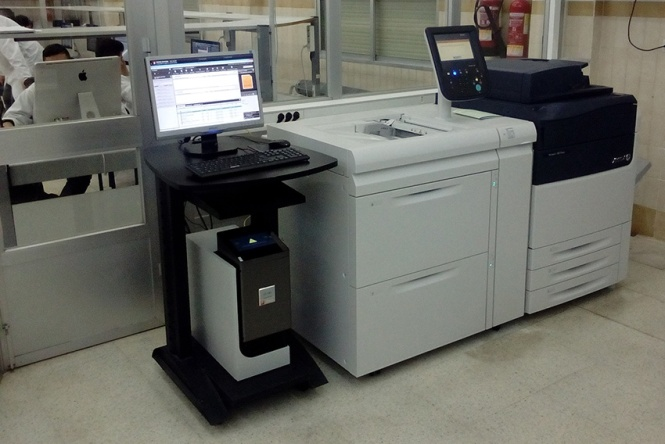 xerox versant 80, reprise, departamento de artes gráficas salesianos atocha, investigación en impresión digital