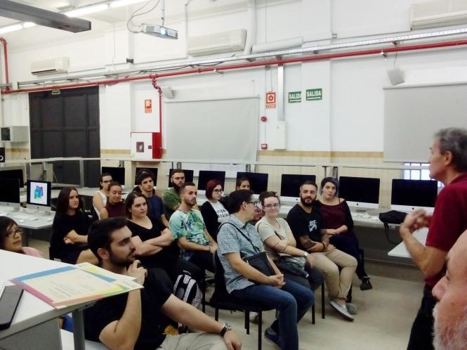 Entrega de diplomas DBMaestro en Diseño y Dirección de Arte, Departamento de Artes Gráficas, Salesianos Atocha,