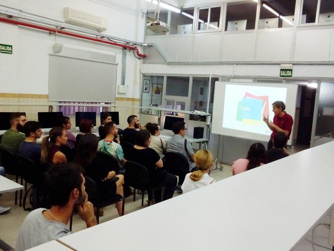 presentación Máster DBMaestro en Diseño y Dirección de Arte, Salesianos Atocha, Departamento de Artes Gráficas, Diseño, Dirección de Arte
