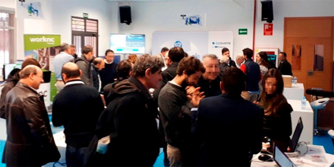 roland dental day madrid 2017, momentos de demostración de dispositivos, salesianos atocha