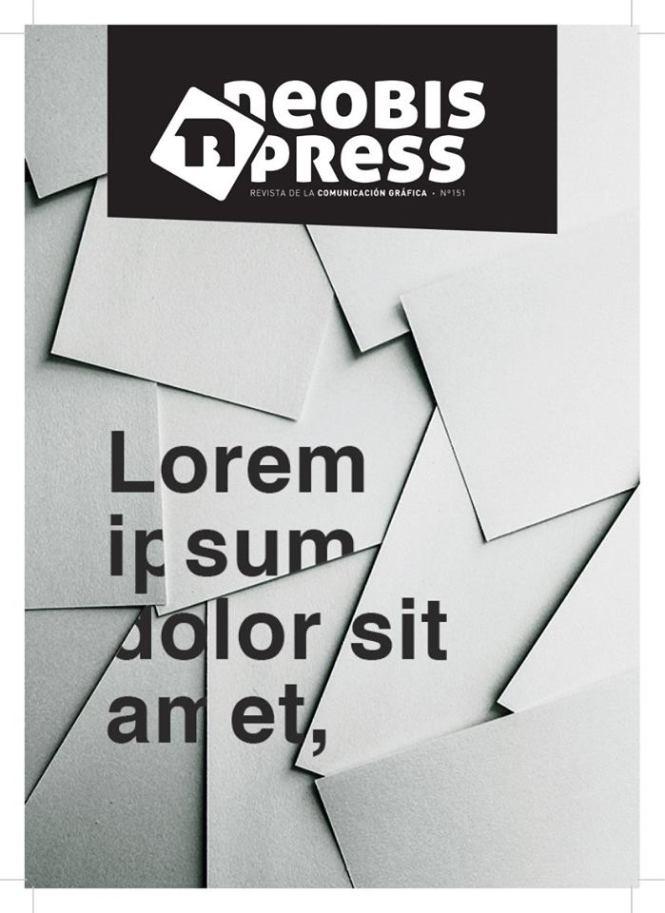 portada concurso Neobis Press 2018, Artes Gráficas Salesianos Atocha, CIclo Diseño y Edición de Publicaciones Impresas y Multimedia