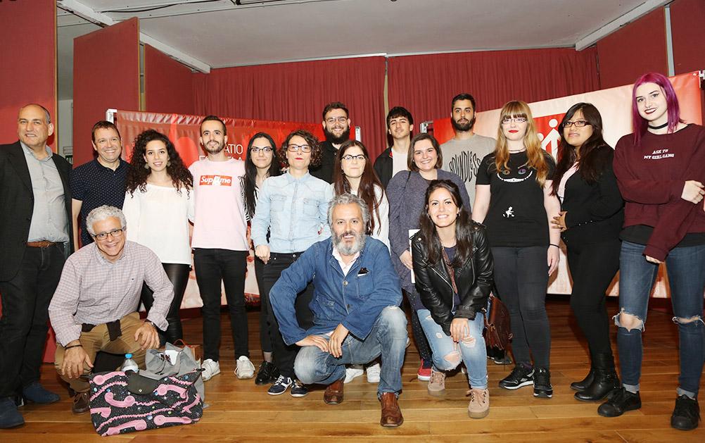 Masterclass Miguel Olivares, DB Maestro, Artes Gráficas Salesianos Atocha. Madrid 2018