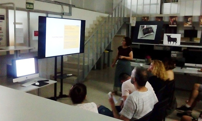 DB Maestro en Diseño y Dirección de Arte, Departamento de Artes Gráficas de Salesianos Atocha, presentación de proyectos 2018