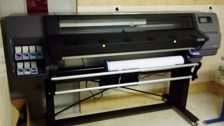 hp latex, departamento artes gráficas salesianos atocha, impresión digital