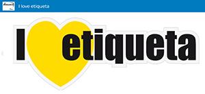I love etiquetas