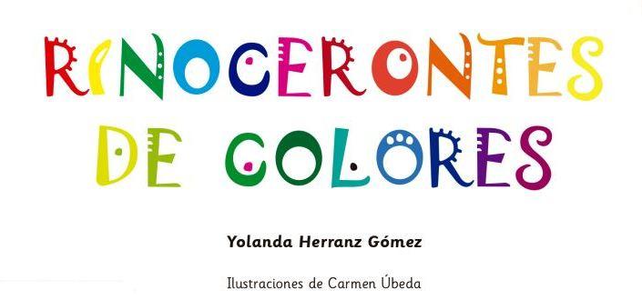 Rinocerontes de colores