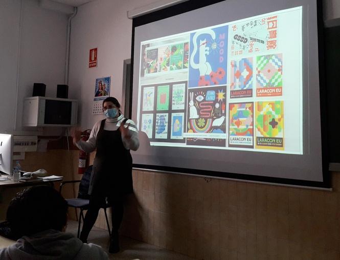 Taller Ilustración Nadia Ahmar Semana Don Bosco 2021